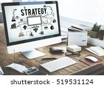 branding business marketing... | Shutterstock . vector #519531124