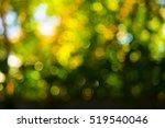 nature abstract green bokeh... | Shutterstock . vector #519540046