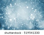 abstract particle with blue... | Shutterstock . vector #519541330