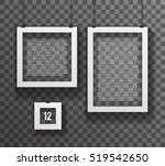 frames paper big little... | Shutterstock .eps vector #519542650