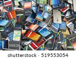 choose mobile phone. heap of... | Shutterstock . vector #519553054