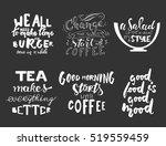 tea makes everything better..... | Shutterstock .eps vector #519559459