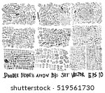 business arrow bubble set ... | Shutterstock .eps vector #519561730