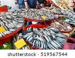 Fish Market Stall.fish Market...