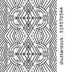 vector geometric pattern in... | Shutterstock .eps vector #519570544