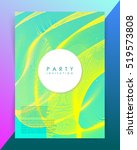party invitation template.... | Shutterstock .eps vector #519573808