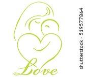 parenting logo template vector | Shutterstock .eps vector #519577864