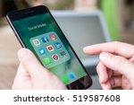 chiang mai  thailand   november ... | Shutterstock . vector #519587608