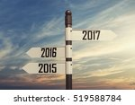 2017 new year concept with...   Shutterstock . vector #519588784