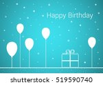 celebration card with wish of... | Shutterstock .eps vector #519590740