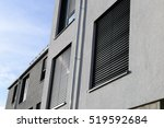 new window with shutter ... | Shutterstock . vector #519592684
