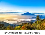 mount fuji in japan.    Shutterstock . vector #519597898