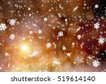 christmas abstract bokeh... | Shutterstock . vector #519614140