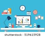 flat design illustration of...   Shutterstock .eps vector #519615928