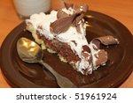 chocolate cake   Shutterstock . vector #51961924