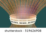 futuristic vector backdrop and... | Shutterstock .eps vector #519626908