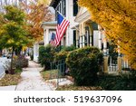 Autumn Color And House In...