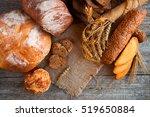 assortment of fresh baked bread ...   Shutterstock . vector #519650884