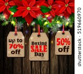 boxing day tag | Shutterstock .eps vector #519660970