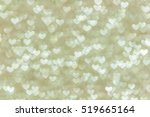 gold heart lights abstract...   Shutterstock . vector #519665164