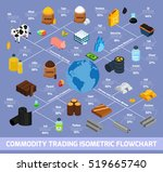 commodity trading isometric... | Shutterstock .eps vector #519665740
