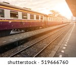 bangkok thailand locomotive... | Shutterstock . vector #519666760