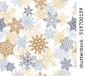 snowflakes seamless pattern for ...