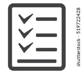 checklist icon vector flat...