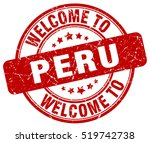 welcome to peru. stamp.   Shutterstock .eps vector #519742738