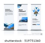 business vector set of modern... | Shutterstock .eps vector #519751360