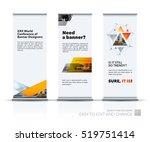 business vector set of modern... | Shutterstock .eps vector #519751414