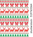 new year's christmas pattern... | Shutterstock .eps vector #519765364