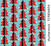 seamless pattern. holiday.... | Shutterstock .eps vector #519806854