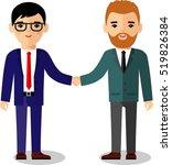 illustration of business ... | Shutterstock .eps vector #519826384