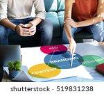 business branding marketing... | Shutterstock . vector #519831238