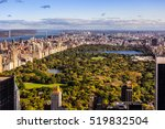 aerial view over new york... | Shutterstock . vector #519832504