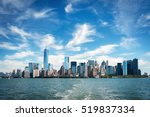 skyscrapers around battery park ... | Shutterstock . vector #519837334