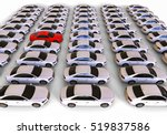 3d render image representing a... | Shutterstock . vector #519837586