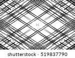 grid distress overlay diagonal... | Shutterstock .eps vector #519837790