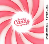 sweet candy background with... | Shutterstock .eps vector #519850258