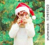 Christmas Child Little Girl In...