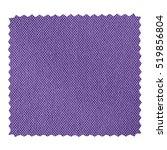 violet fabric swatch with zig... | Shutterstock . vector #519856804