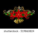 christmas elements for your... | Shutterstock .eps vector #519863824
