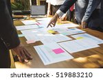 business corporate people... | Shutterstock . vector #519883210
