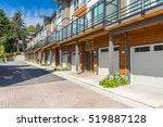 newly built condos  with nicely ... | Shutterstock . vector #519887128