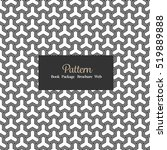 vector seamless pattern... | Shutterstock .eps vector #519889888