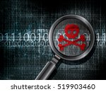 virus computer infected bug... | Shutterstock .eps vector #519903460