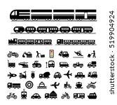 vector basic icon for transport ...   Shutterstock .eps vector #519904924