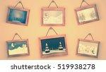 3d rendering cartoon christmas...   Shutterstock . vector #519938278