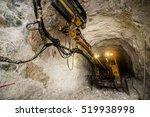 gold mining underground | Shutterstock . vector #519938998